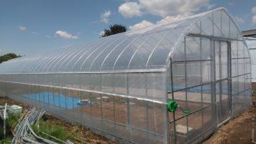 千葉県の施工実績|有機野菜用ビニールハウス(25坪)の画像