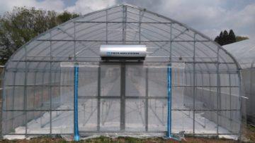 千葉県の施工実績|パイプハウス・栽培ベンチ(45坪)の画像