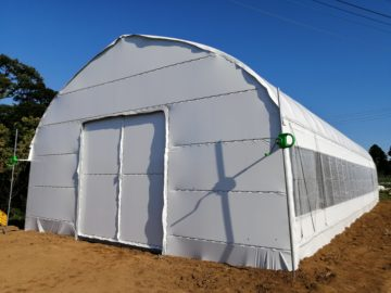 千葉県の施工実績|遮光ビニールハウス(18坪)の画像