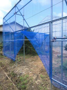千葉県の施工実績|防風施設(L字型)の画像