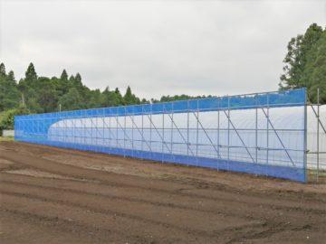 千葉県の施工実績|防風施設(H3mxW50m)の画像