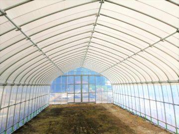 千葉県の施工実績|遮光ビニールハウス(20.6坪)の画像