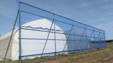(株)共走|千葉県の施工実績|防風施設(H3m×W14m)の画像